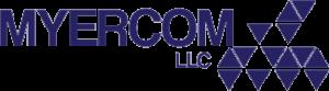 Myercom blue logo